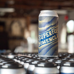 picture of can of superfluous nomenclature beer