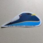 Rail Car One Sticker